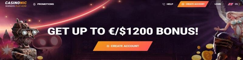casinonic bonus gratis